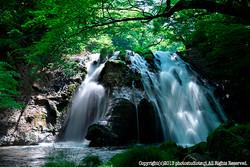 男池名水の滝