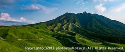 箱石峠より根子岳を望む