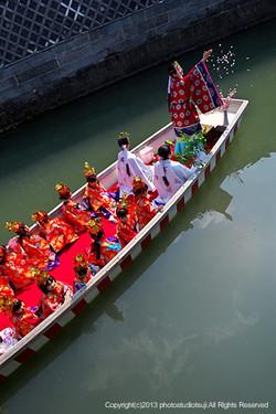 柳川市 おひな様水上パレード