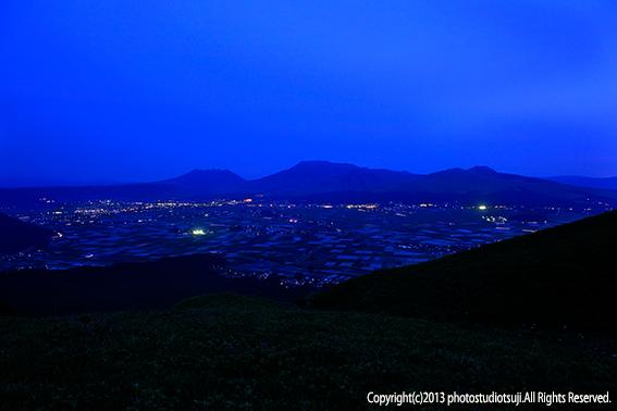 阿蘇 大観峰の夜景