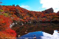 九重連山 大船山の御池