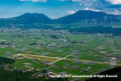阿蘇の田園風景