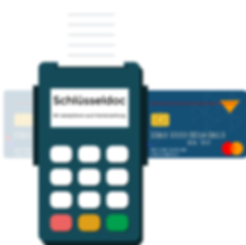 ATM payment and credit card payment