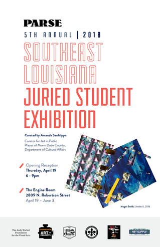 5th Annual Southeast Louisiana Juried Student Exhibition