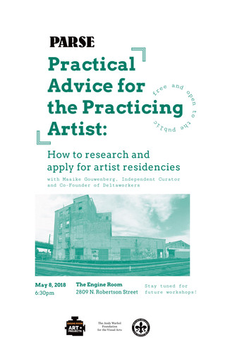 HOW TO: research and apply for artist residencies!