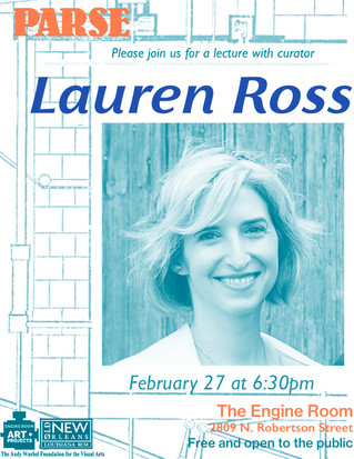 PARSE Guest Curator Lecture