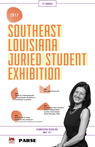 4th Annual Southeast Louisiana Juried Student Exhibition
