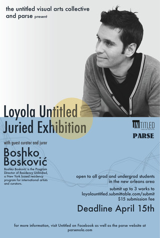 Loyola Untitled Juried Exhibition at PARSE!