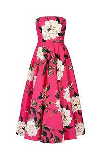 Carla-Strapless-Dress-Fine-Art-Floral-Fr