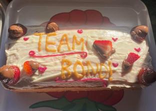 Liv's Bond cake!