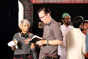 Director Iram Parveen Bilal and DP Antho