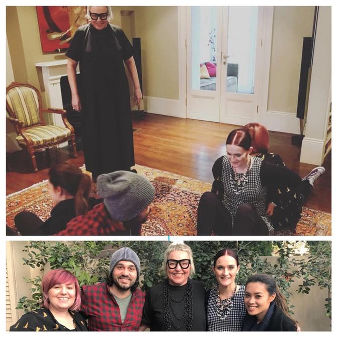 Jenni mentors Australia's Hot Shots