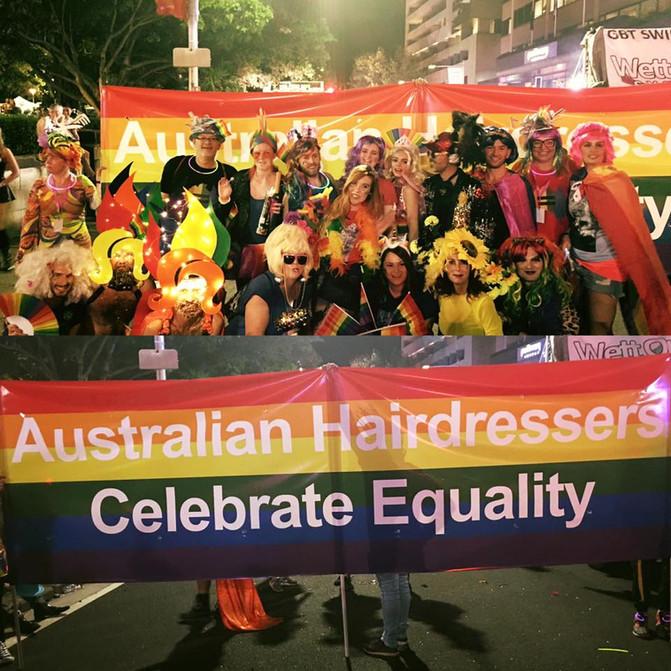 Australian Hairdressers Celebrate Diversity