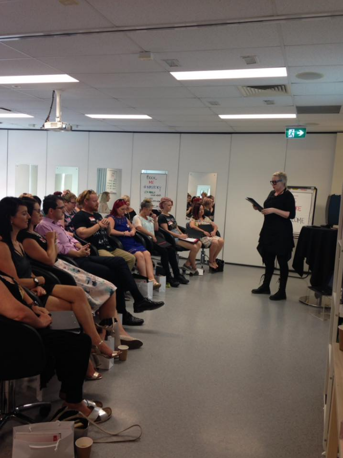 Jenni spreads the word about business excellence in Brisbane and Sydney