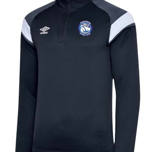 MFC Cheadle UMBRO YOUTH Half Zip Sweat Top
