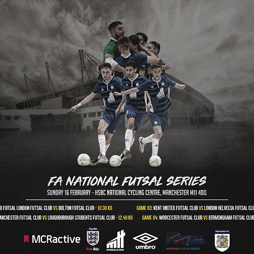 THE FA NATIONAL FUTSAL SERIES