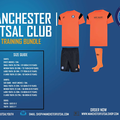 MFC Bury UMBRO YOUTH Training Bundle