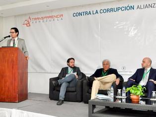 Fundación Vortex en Lanzamiento de Alianza de Gobierno Abierto, organizado por Transparencia Venezue