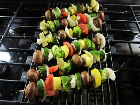 Skewered Veggy Kebabs