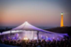 Festival tent rental