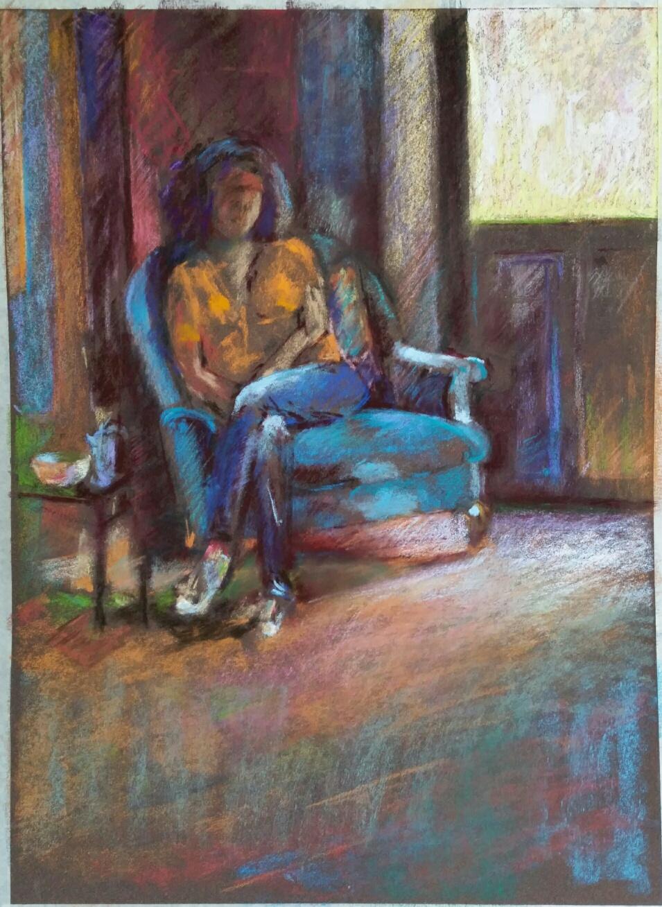Gabriella au salon