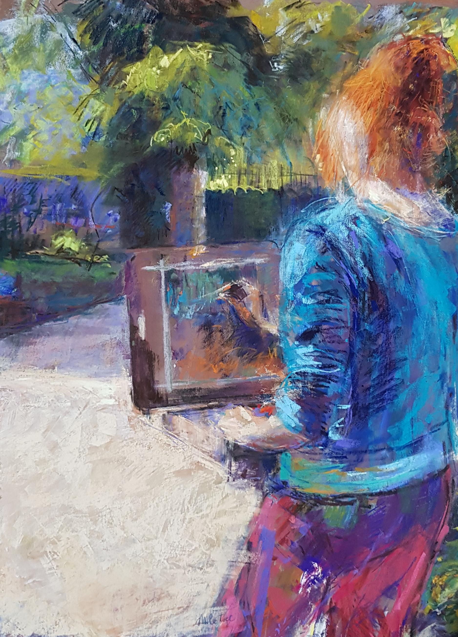 Peindre chez Claude