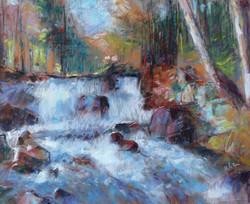 La rivière chante l'automne