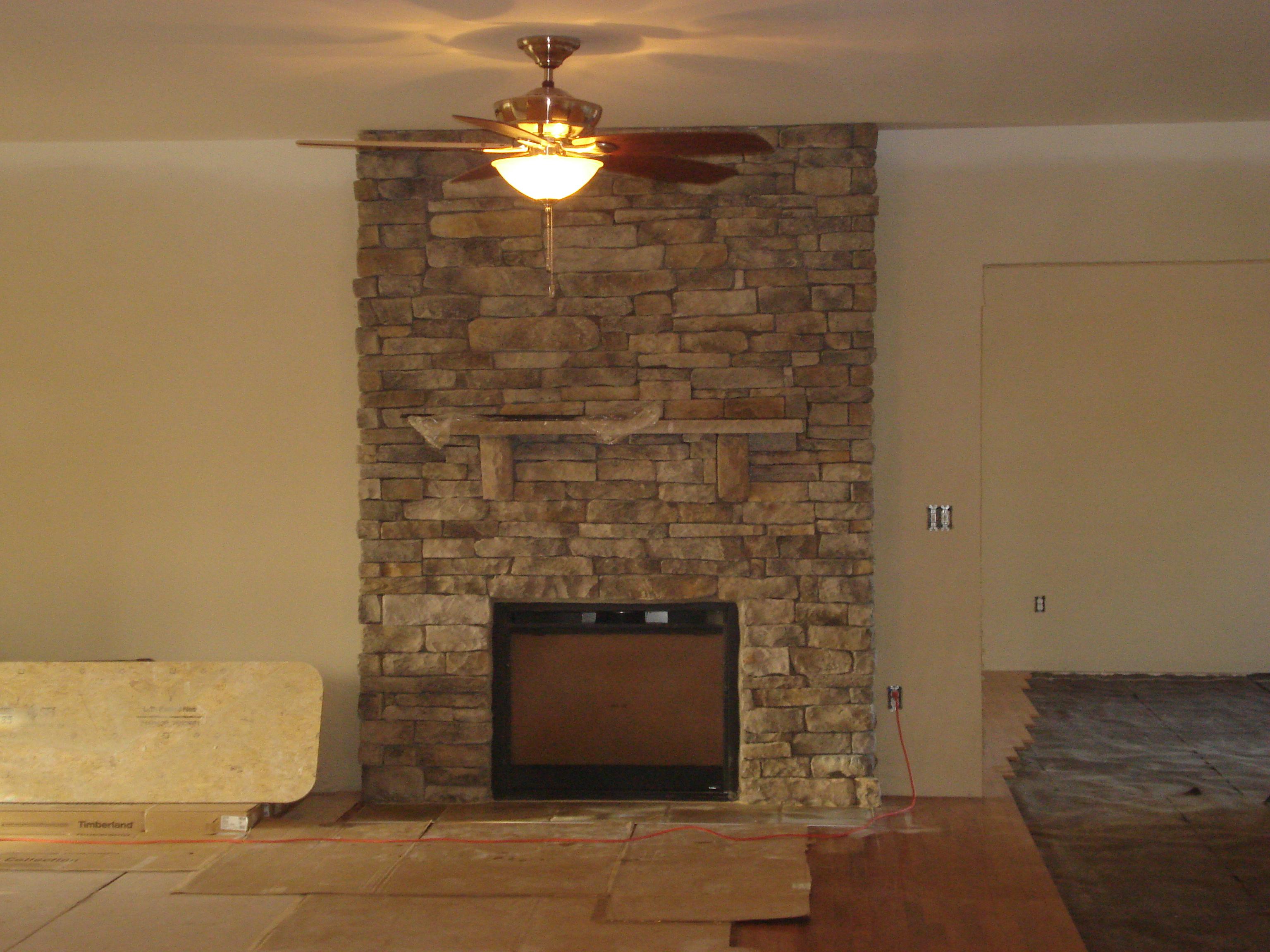 glick's fireplace