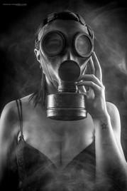 Shooting studio portrait