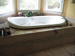 floating tub