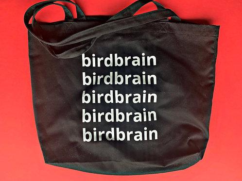 birdbrain tote bag