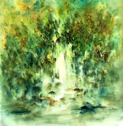 thumb_Water Flowing, 70x75 cm,_1024