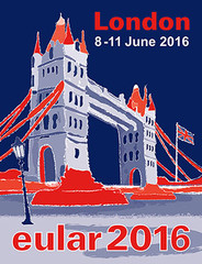 Logo eular 2016 London - Congreass MCI Group designed by Jacqueline Asker