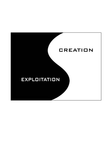 Funky Business - Slide Logotype TESS designed by Jacquyeline Asker
