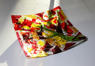 Design Glass tray designed by Jacqueline Asker