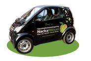 Nacka Hälsan - Smart car designed by Jacqueline Asker