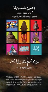 Poster - Vernissage TESS designed by Jacqueline Asker