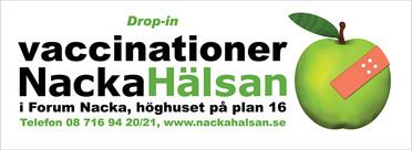 NackaHälsan - Ad designed by Jacqueline Asker