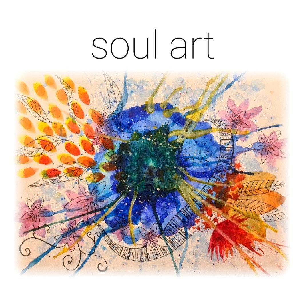 LIVE Online Soul Painting Class
