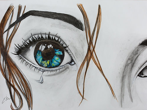'Loss' Original Watercolour