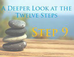 Working Step Nine by: Marie B.