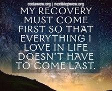 """""""My Relationship with Recovery"""" by: Kimberly Sprintz"""