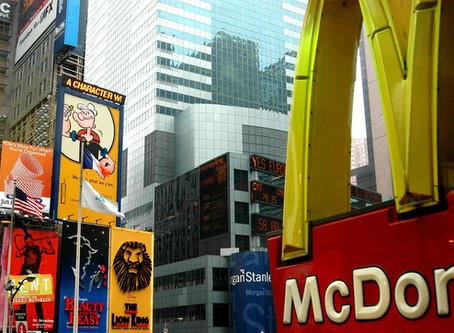McDonald's verkauft 75 HAMBURGER PRO SEKUNDE JEDEN TAG.