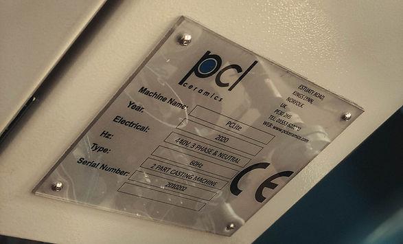 PCL Machine information