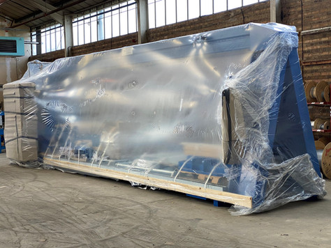 Another PCL high-pressure casting system out of the door and on its way to Asia!