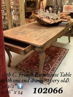 19th C. French Farmhouse Table
