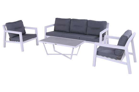 Hartman Porto Rico Sofagruppe Aluminium