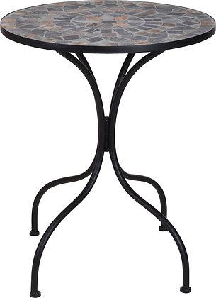 Kafebord sort med mosaikkflis