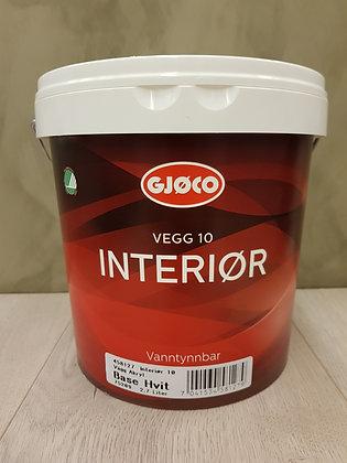 Gjøco Interiør 10 Silkematt 3L
