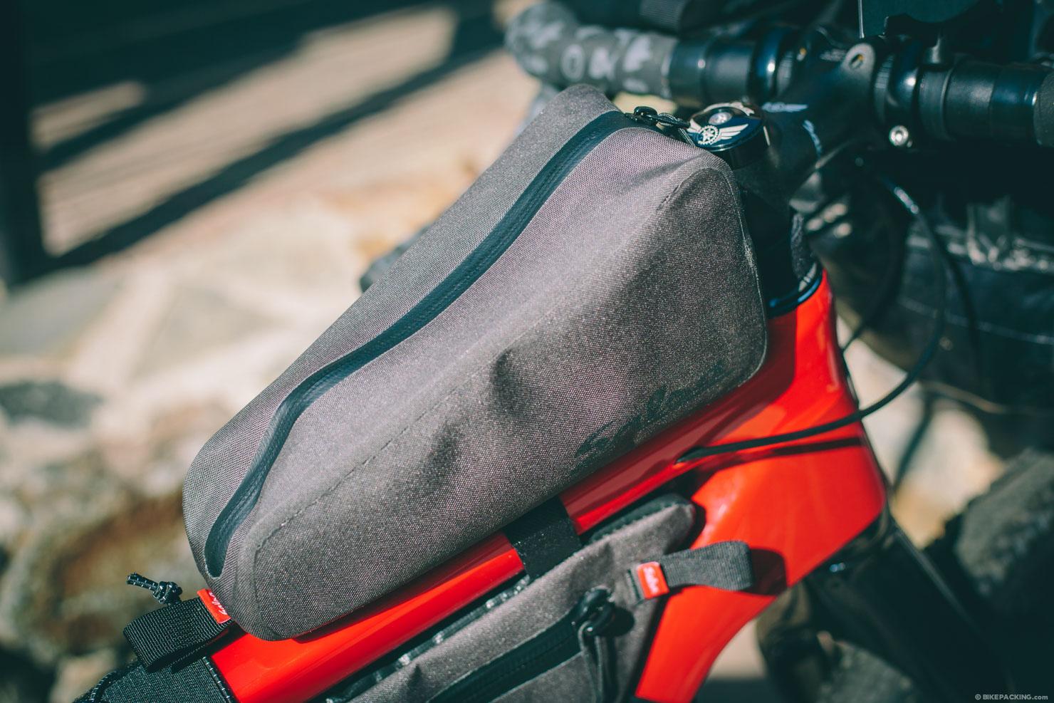 salsa bikepacking Top Tube Bag
